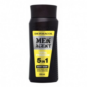 Dermacol Men Agent Total Freedom 5in1 Żel pod prysznic 250ml