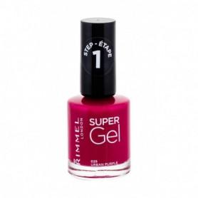 Rimmel London Super Gel STEP1 Lakier do paznokci 12ml 025 Urban Purple