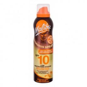 Malibu Continuous Spray Dry Oil SPF10 Preparat do opalania ciała 175ml