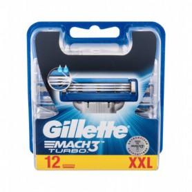 Gillette Mach3 Turbo Wkład do maszynki 12szt