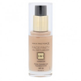 Max Factor Facefinity All Day Flawless 3in1 SPF20 Podkład 30ml 75 Golden