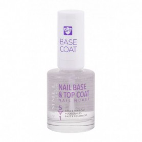 Rimmel London Nail Nurse Base & Top Coat Lakier do paznokci 12ml