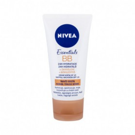 Nivea BB Cream 5in1 Beautifying Moisturizer, SPF10 Krem BB 50ml Medium To Dark