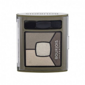 BOURJOIS Paris Smoky Stories Quad Eyeshadow Palette Cienie do powiek 3,2g 04 Rock This Khaki