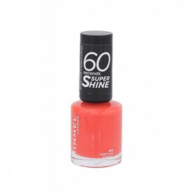 Rimmel London 60 Seconds Super Shine Lakier do paznokci 8ml 415 Instyle Coral