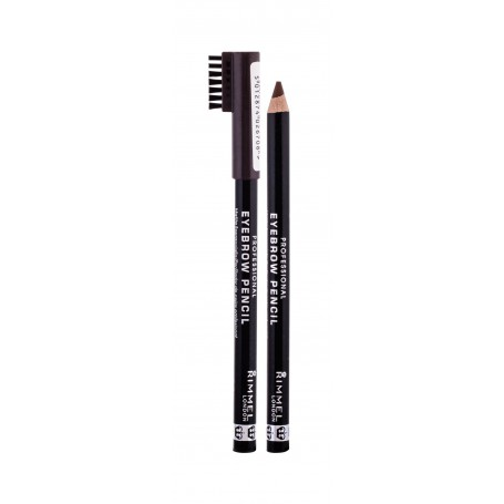 Rimmel London Professional Eyebrow Pencil Kredka do brwi 1,4g 001 Dark Brown