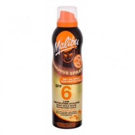 Malibu Continuous Spray Dry Oil SPF6 Preparat do opalania ciała 175ml