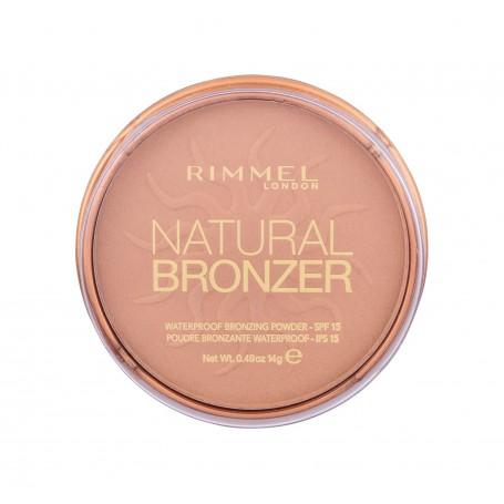 Rimmel London Natural Bronzer SPF15 Bronzer 14g 022 Sun Bronze