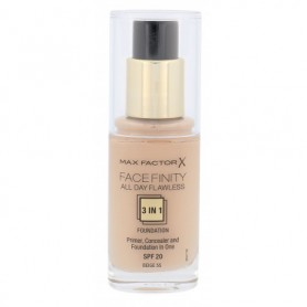 Max Factor Facefinity All Day Flawless 3in1 SPF20 Podkład 30ml 55 Beige