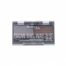 Rimmel London Brow This Way Regulacja brwi 2,4g 003 Dark Brown
