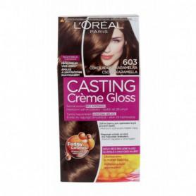 L´Oréal Paris Casting Creme Gloss Farba do włosów 1szt 603 Chocolate Caramel