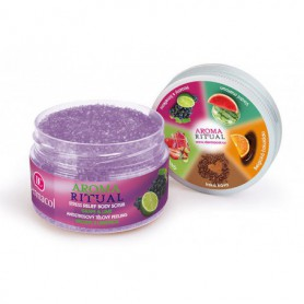 Dermacol Aroma Ritual Grape & Lime Peeling do ciała 200g