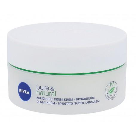 Nivea Pure & Natural Krem do twarzy na dzień 50ml
