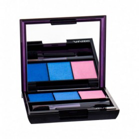Shiseido Luminizing Satin Eye Color Trio Cienie do powiek 3g BL310 Punky Blues