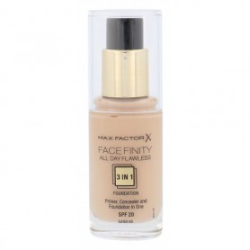 Max Factor Facefinity All Day Flawless 3in1 SPF20 Podkład 30ml 60 Sand