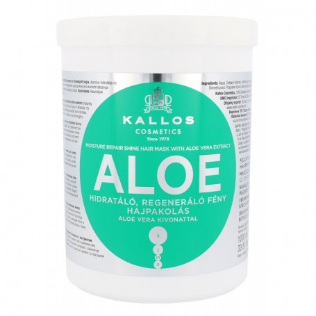 Kallos Cosmetics Aloe Vera Maska do włosów 1000ml