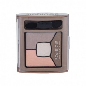 BOURJOIS Paris Smoky Stories Quad Eyeshadow Palette Cienie do powiek 3,2g 12 Sau-Mondaine