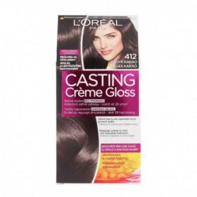 L´Oréal Paris Casting Creme Gloss Farba do włosów 1szt 412 Iced Cocoa