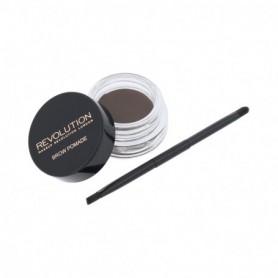 Makeup Revolution London Brow Pomade Regulacja brwi 2,5g Ash Brown