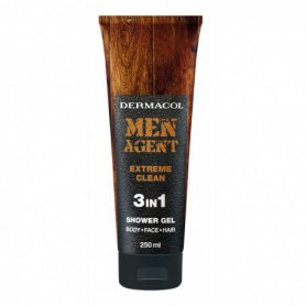 Dermacol Men Agent Extreme Clean 3in1 Żel pod prysznic 250ml