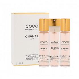 Chanel Coco Mademoiselle Woda toaletowa 3x20ml