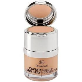 Dermacol Caviar Long Stay Make-Up & Corrector Podkład 30ml 3 Nude