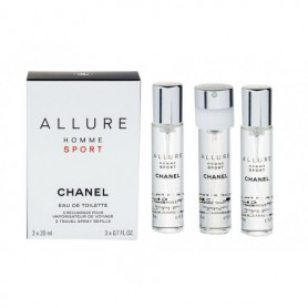 Chanel Allure Homme Sport 3x 20 ml Woda toaletowa 20ml