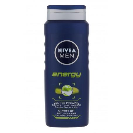Nivea Men Energy Żel pod prysznic 500ml