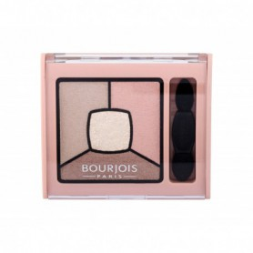 BOURJOIS Paris Smoky Stories Quad Eyeshadow Palette Cienie do powiek 3,2g 14 Tomber Des Nudes