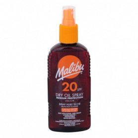 Malibu Dry Oil Spray SPF20 Preparat do opalania ciała 200ml