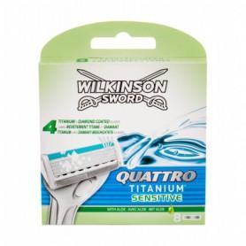 Wilkinson Sword Quattro Titanium Sensitive Wkład do maszynki 8szt