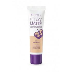 Rimmel London Stay Matte Liquid Mousse Foundation Podkład 30ml 200 Soft Beige