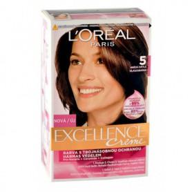 L´Oréal Paris Excellence Creme Farba do włosów 1szt 5 Natural Brown