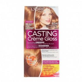 L´Oréal Paris Casting Creme Gloss Farba do włosów 1szt 834 Hot Caramel