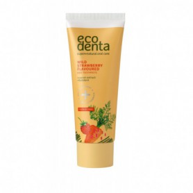 Ecodenta Toothpaste Wild Strawberry Flavoured Pasta do zębów 75ml