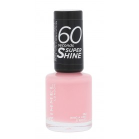 Rimmel London 60 Seconds Super Shine Lakier do paznokci 8ml 262 Ring A Ring O´Roses