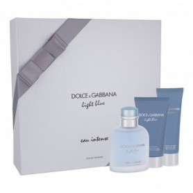 Dolce&Gabbana Light Blue Eau Intense Pour Homme Woda perfumowana 100ml zestaw upominkowy