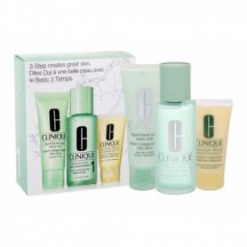 Clinique 3-Step Skin Care 1 Toniki 100ml zestaw upominkowy