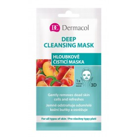 Dermacol Deep Cleansing Mask Maseczka do twarzy 15ml