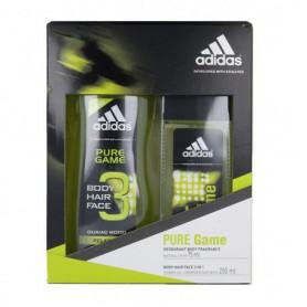 Adidas Pure Game Dezodorant 75ml zestaw upominkowy