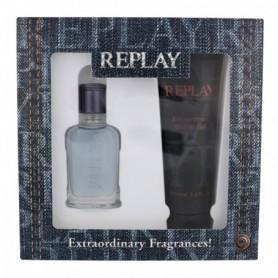 Replay Jeans Spirit! For Him Woda toaletowa 30ml zestaw upominkowy