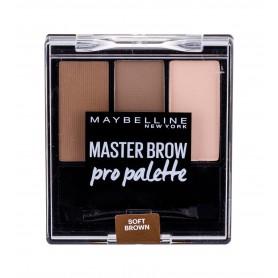 Maybelline Master Brow Pro Palette Regulacja brwi 6g Soft Brown