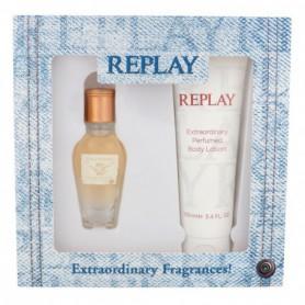 Replay Jeans Original! For Her Woda toaletowa 20ml zestaw upominkowy