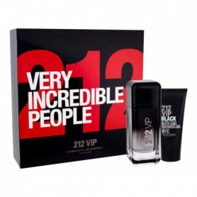 Carolina Herrera 212 VIP Men Black Woda perfumowana 100ml zestaw upominkowy