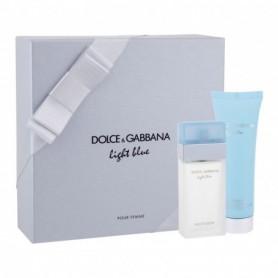 Dolce&Gabbana Light Blue Woda toaletowa 25ml zestaw upominkowy