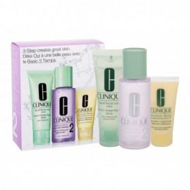 Clinique 3-Step Skin Care 2 Toniki 100ml zestaw upominkowy