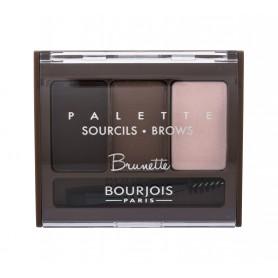 BOURJOIS Paris Brow Palette Regulacja brwi 4,5g Brunette