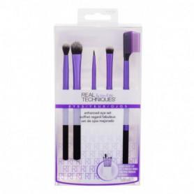 Real Techniques Brushes Eyes Enhanced Eye Kit Pędzel do makijażu 6szt zestaw upominkowy