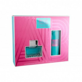 Antonio Banderas Blue Seduction For Women Woda toaletowa 80ml zestaw upominkowy