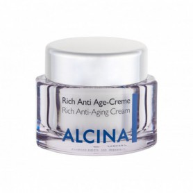 ALCINA Rich Anti-Aging Cream Krem do twarzy na dzień 50ml